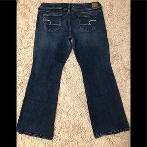Women's AEO Original Boot Jeans SZ 16 Short